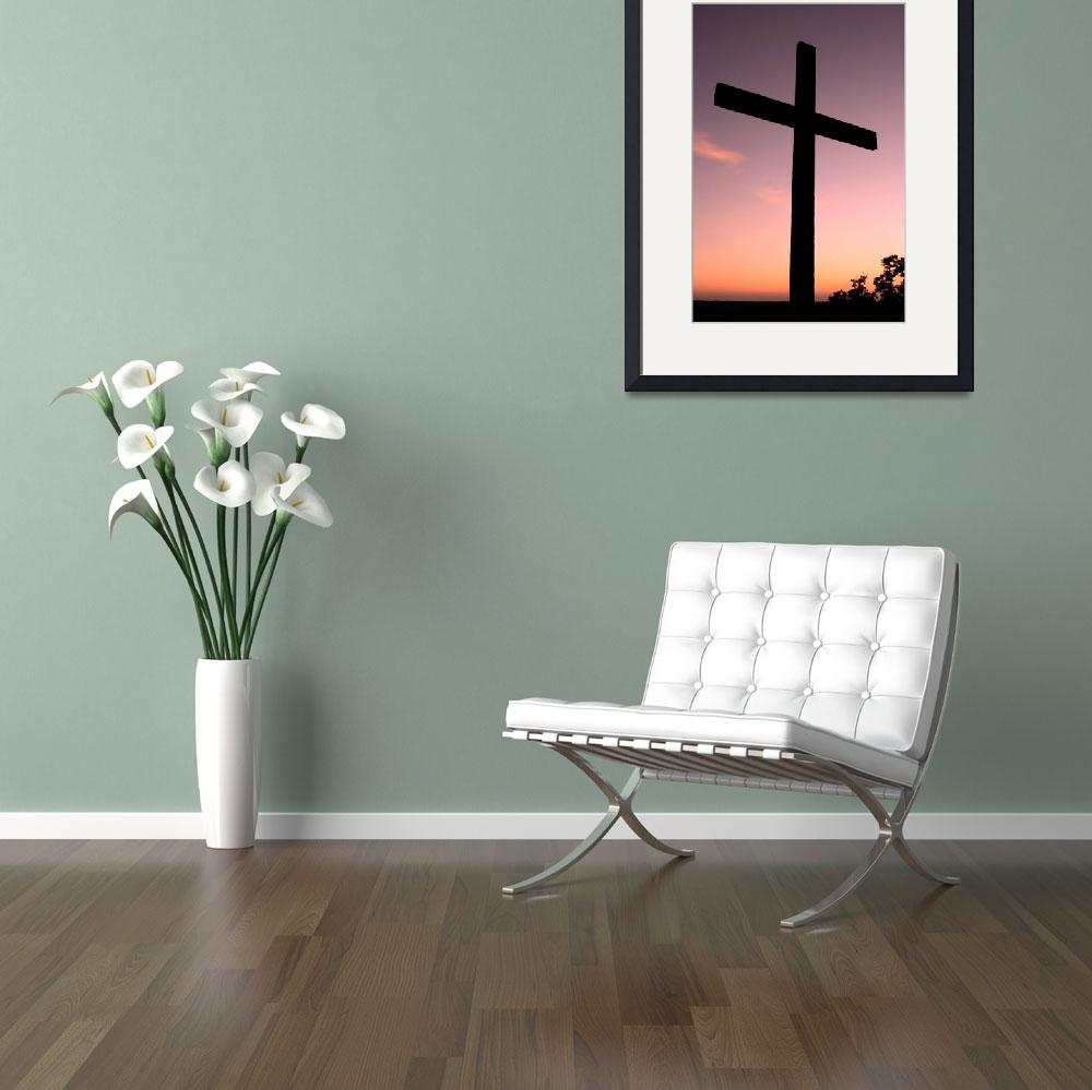 """""""Sunset Cross&quot  (2006) by PaulHuchton"""