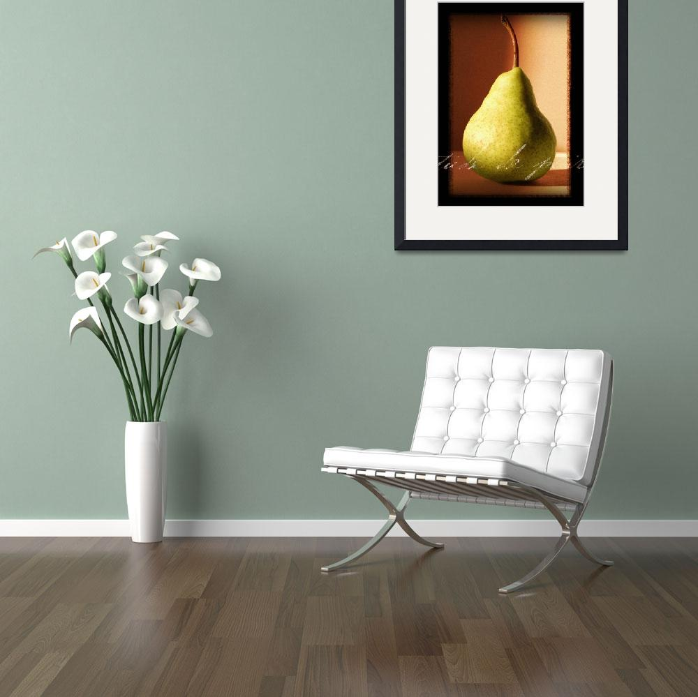 """""""Study of Pear&quot  (2006) by dallasdrotz"""