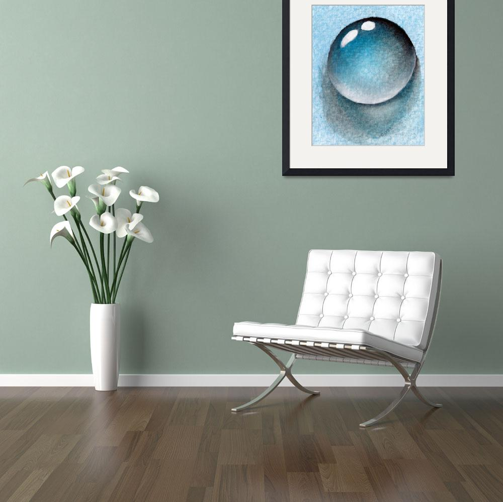 """""""Dream of Water Droplet&quot  (2015) by oystudio"""