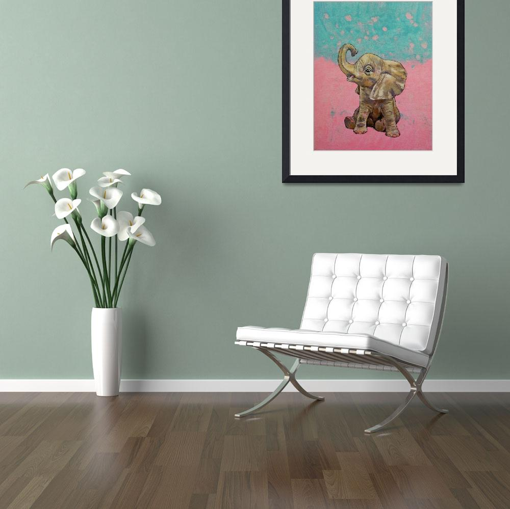 """""""Baby Elephant&quot  by creese"""
