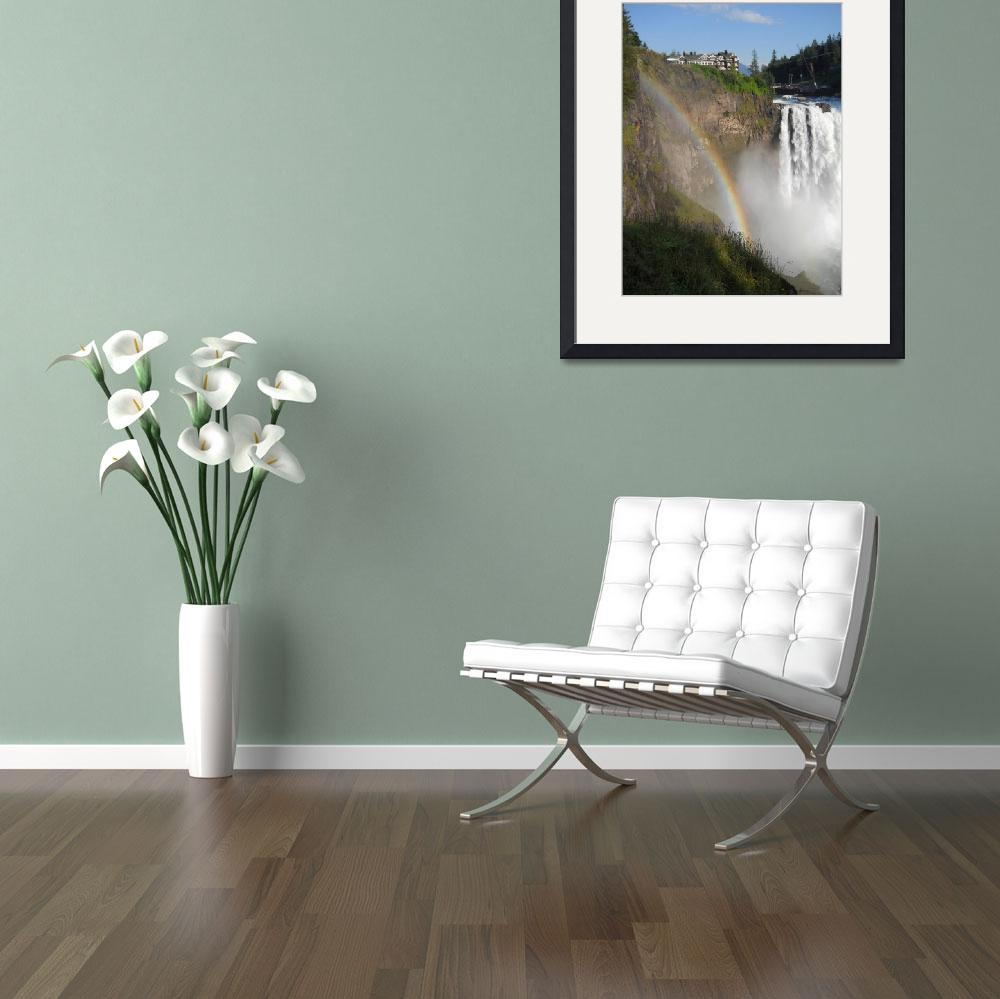 """""""Snoqualmie Falls&quot  (2012) by MikeCressy"""
