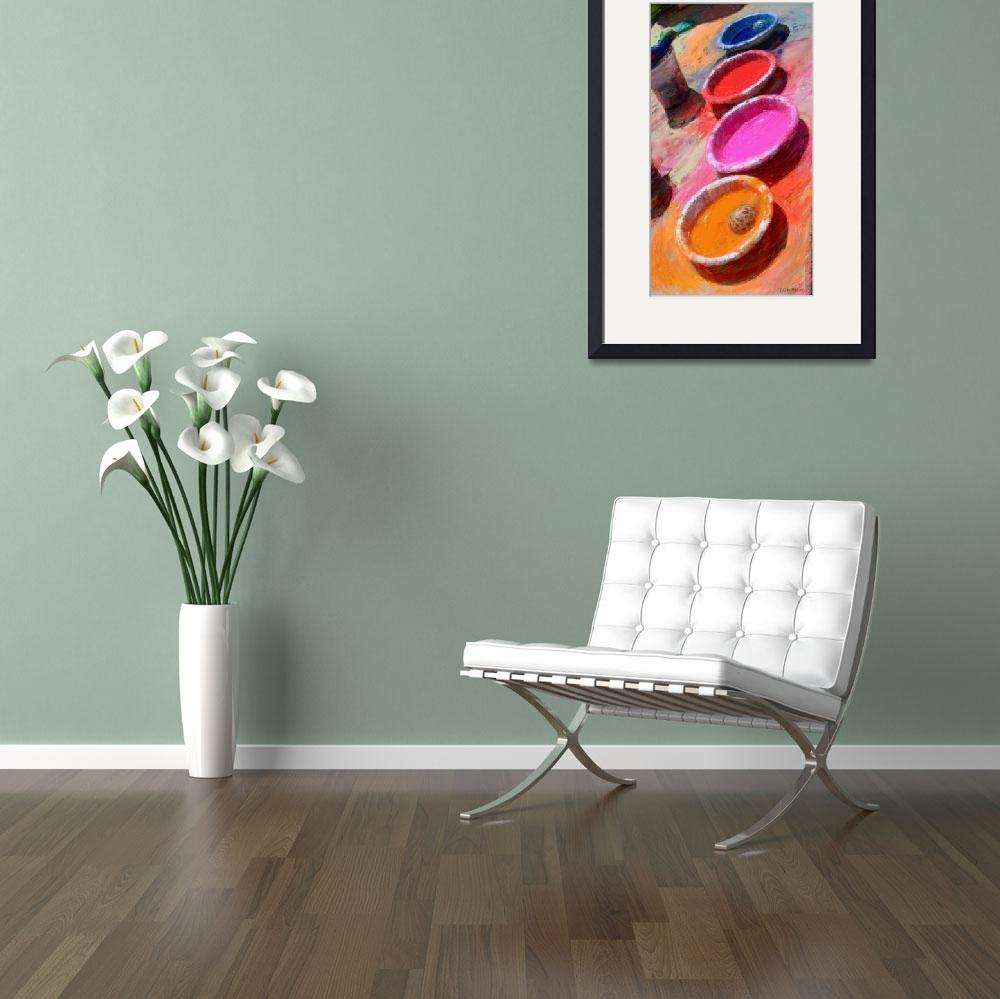 """""""Bowls of Color""""  (2010) by RGMcmahon"""
