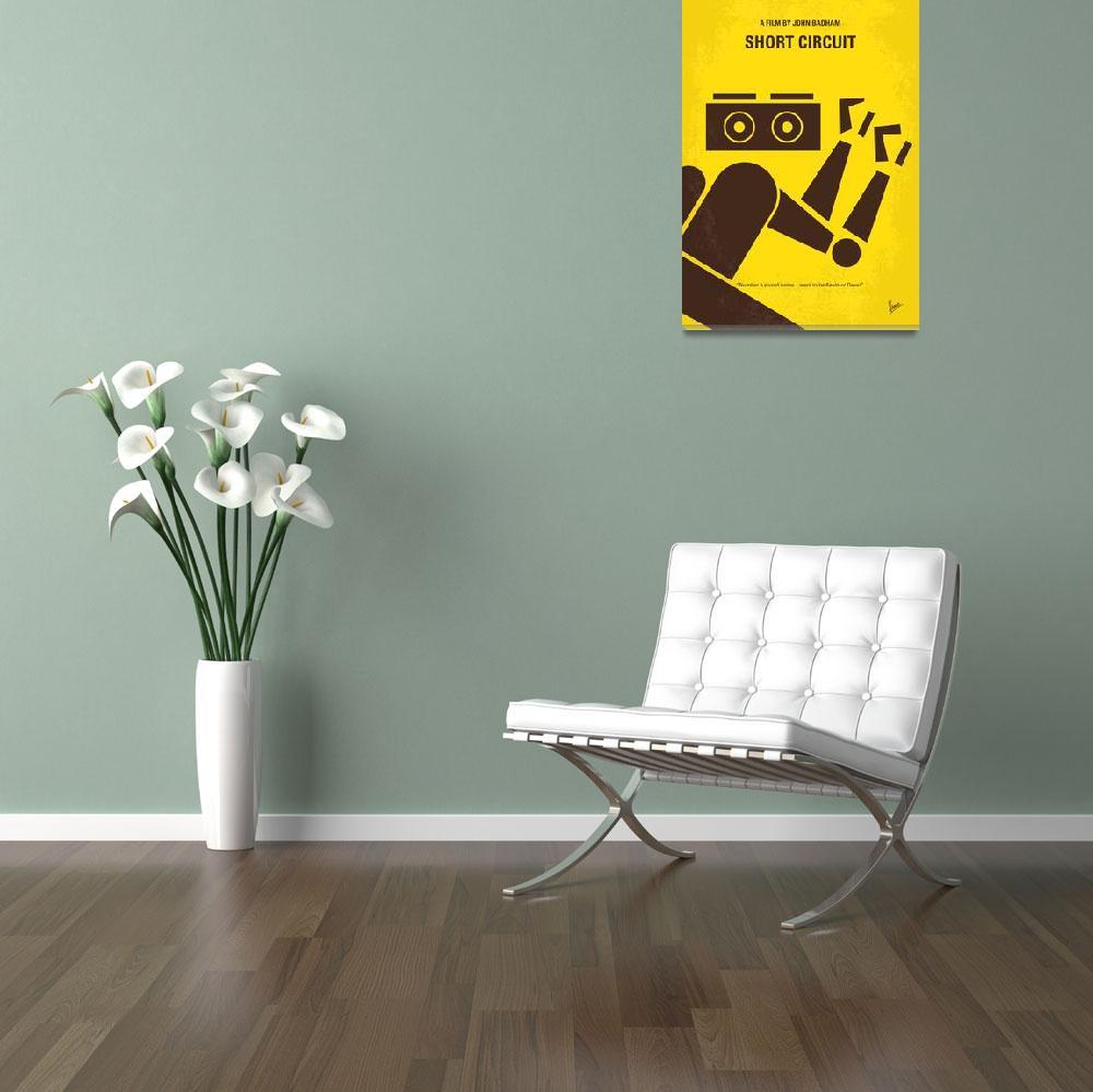"""No470 My Short Circuit minimal movie poster&quot  by Chungkong"