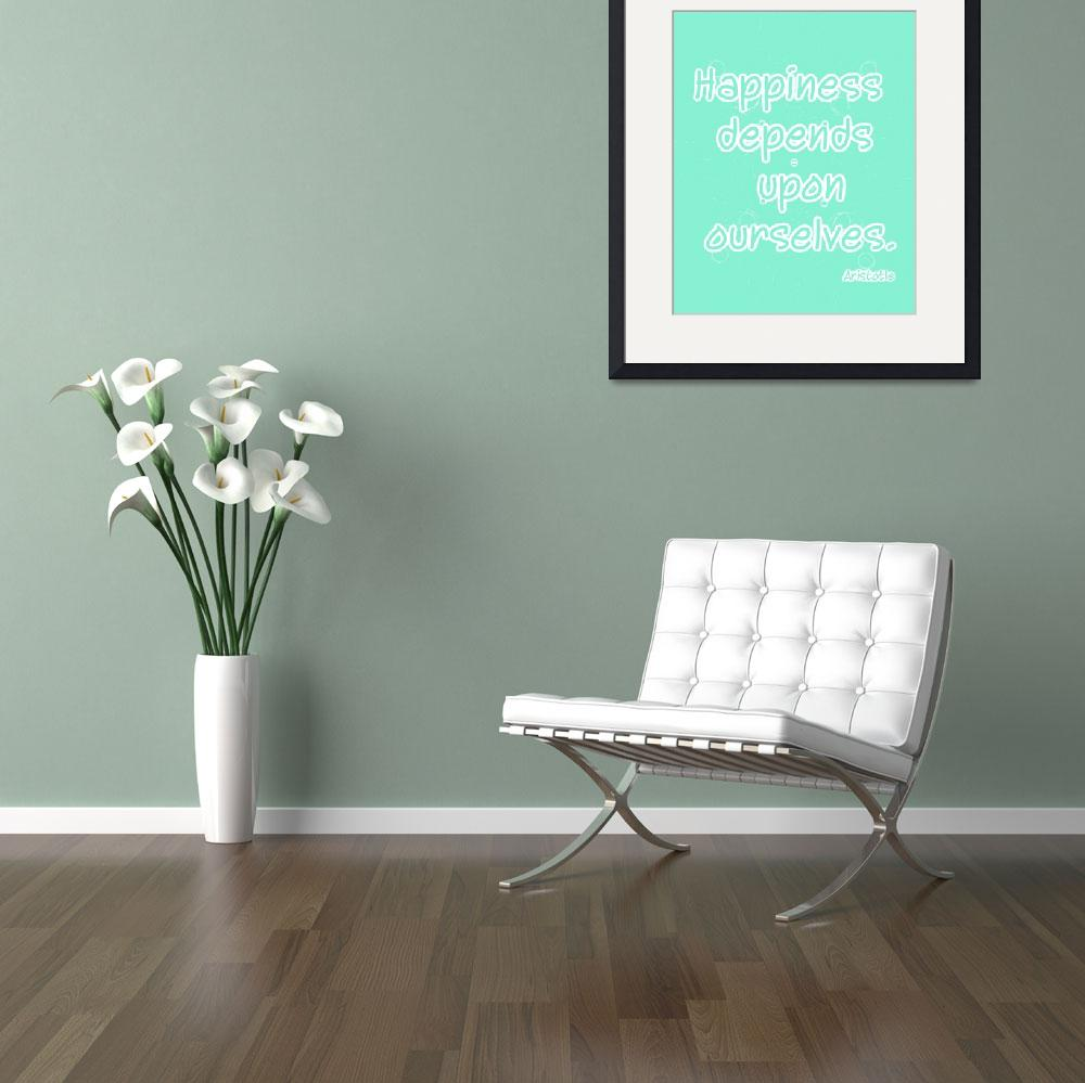 """Happiness copy mint&quot  by SylviaCoomes"