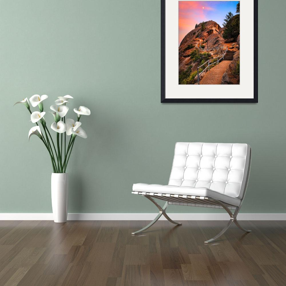 """""""Moro Rock Path&quot  (2008) by Inge-Johnsson"""
