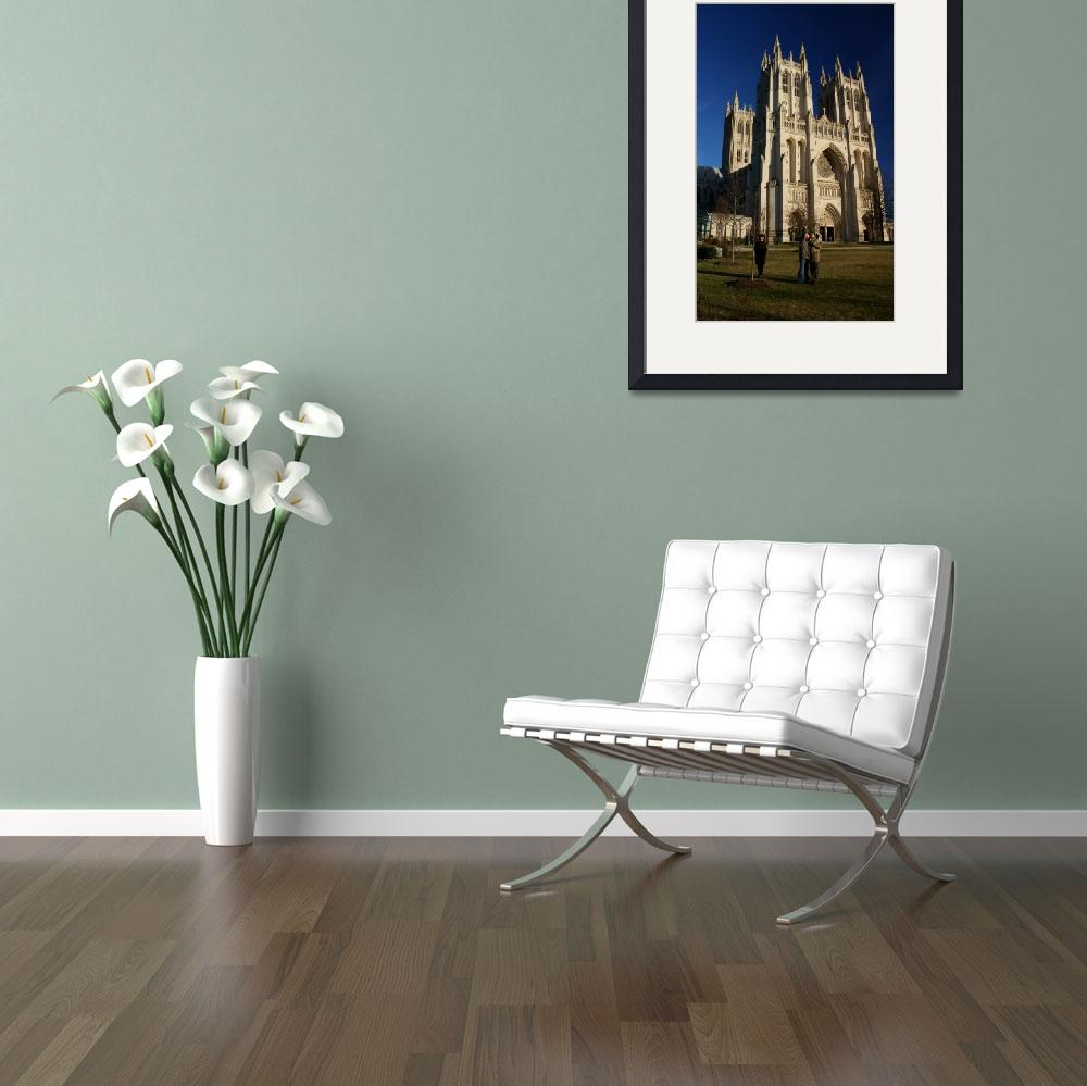 """""""National Cathedral&quot  (2008) by DavoPix"""