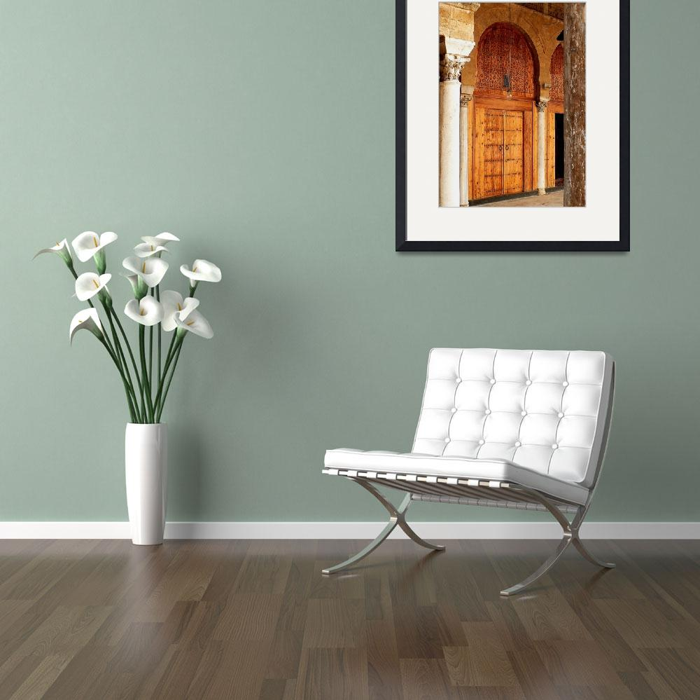 """""""Arches in the Mosque""""  (2007) by rayjacque"""