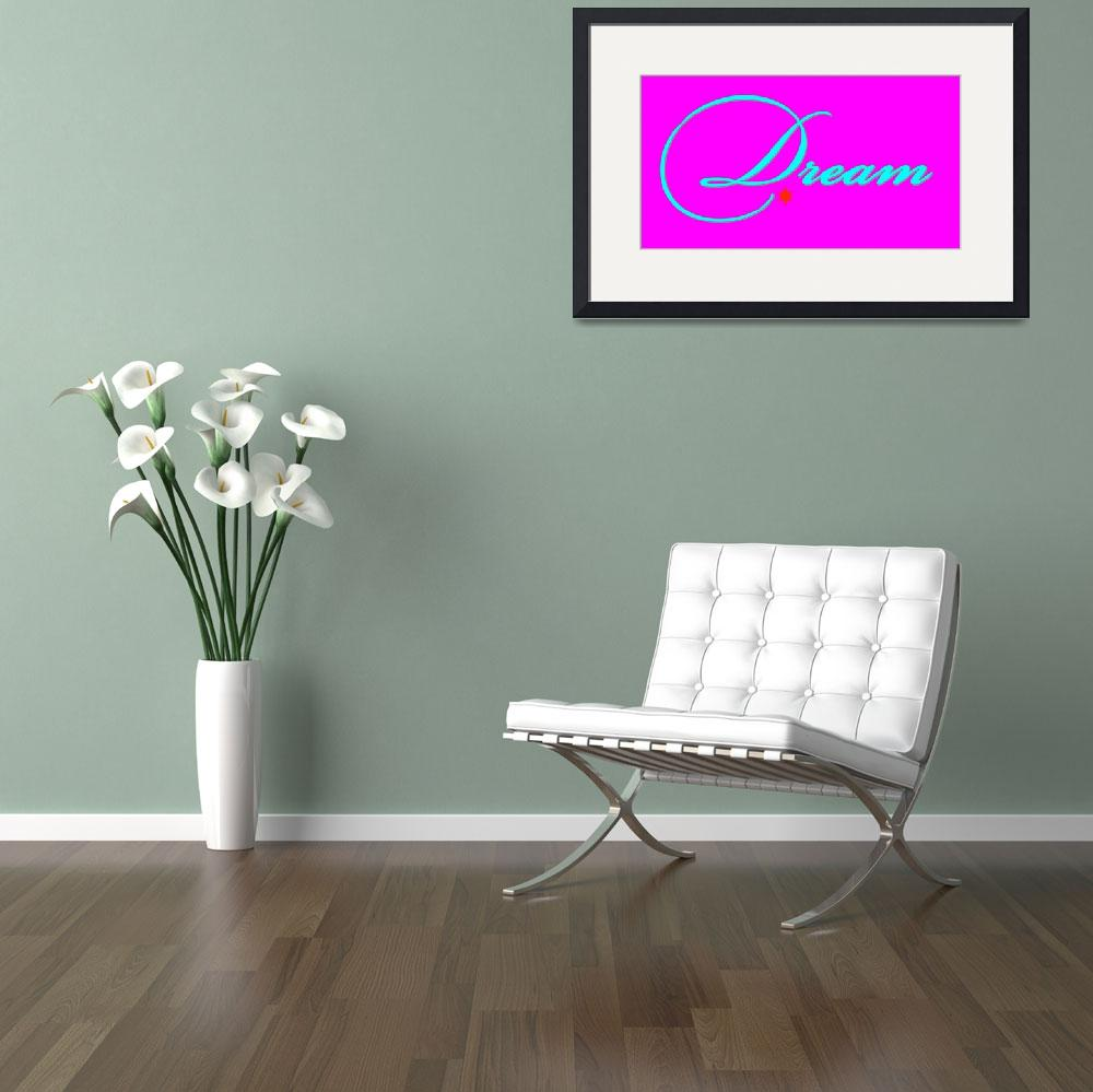 """""""dream teal on bright pink""""  by lizmix"""