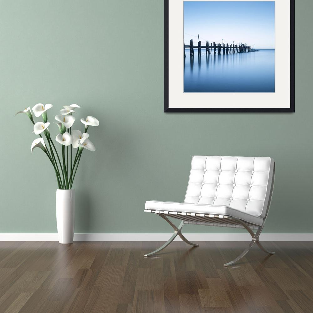 """China Camp Panoramic two of two&quot  by artlicensing"