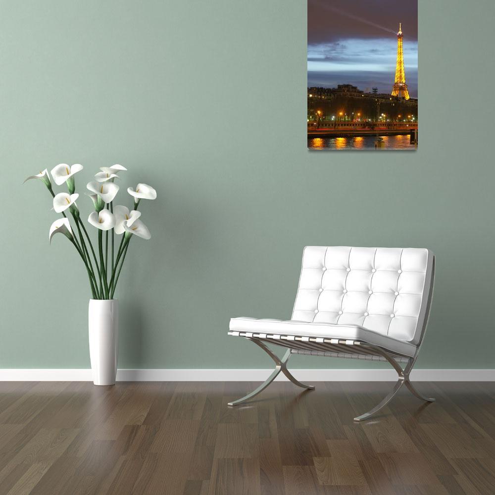 """""""Le Seine et la Tour Eiffel""""  (2005) by MattParry"""