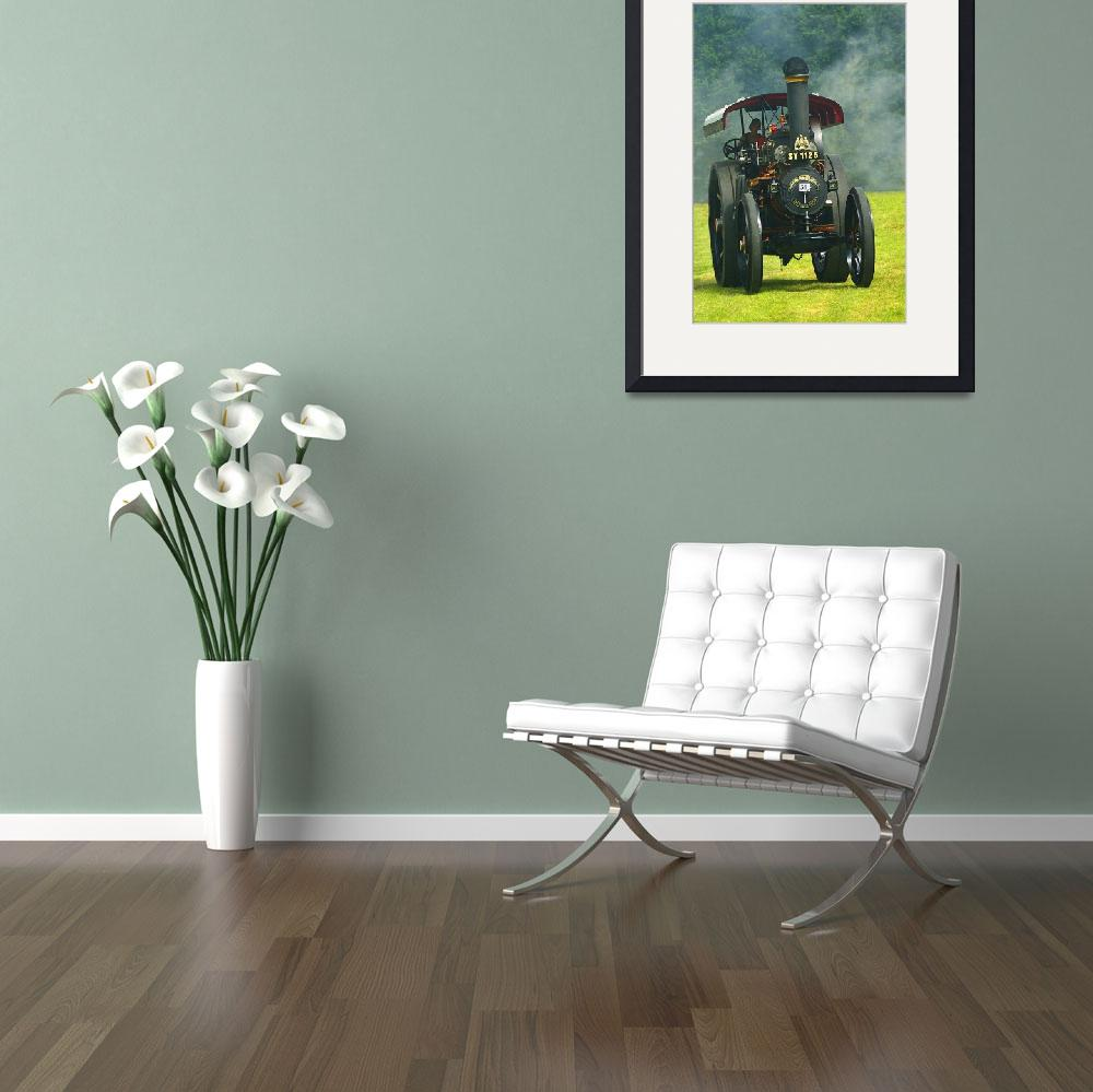 """""""Fowler Steam Traction Engine&quot  (2011) by loversdream"""