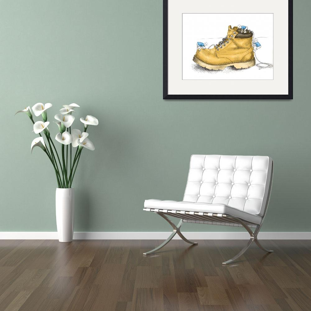 """""""Boys and Boots&quot  (2010) by Billifrench"""