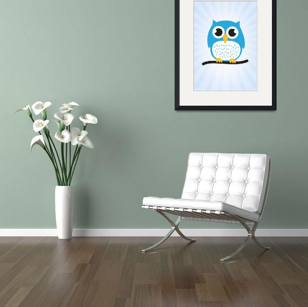 """""""Cute owl&quot  (2014) by badbugs"""