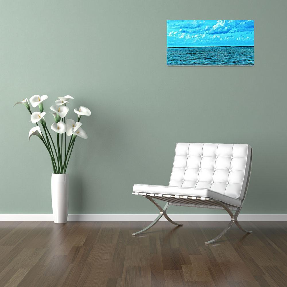 """The Ocean Art 4""  (2015) by positivebusinessdesigns"