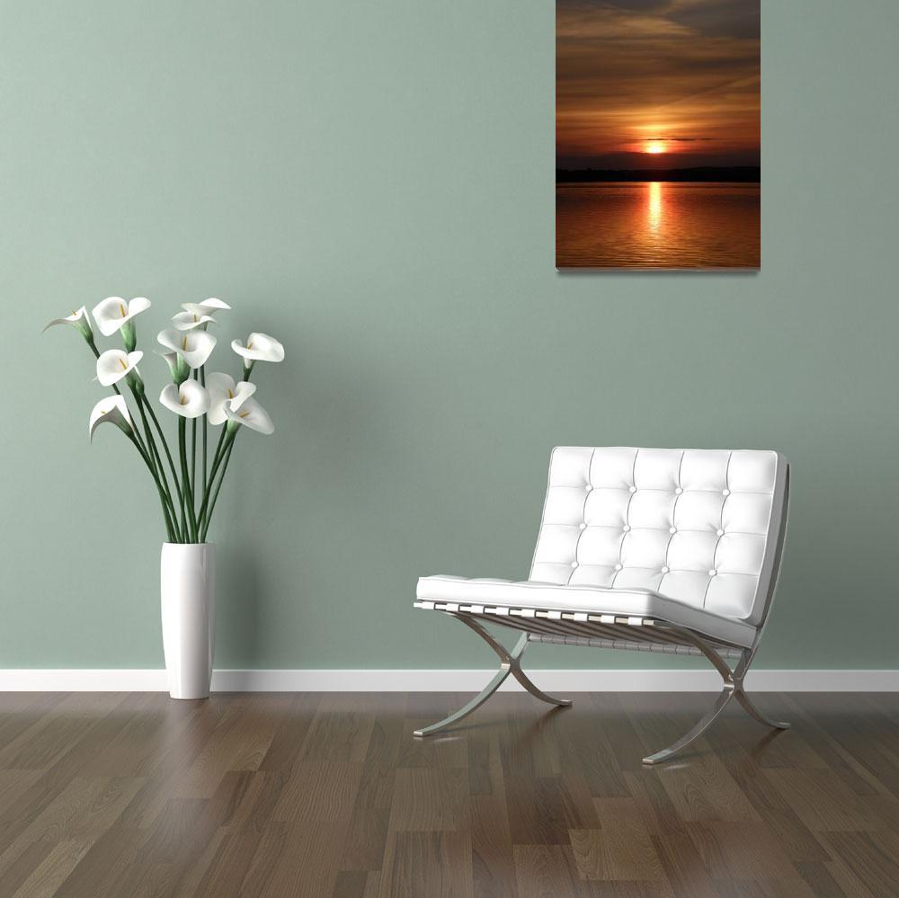 """""""Pearl Lake Sunset""""  (2010) by jodipflepsen"""