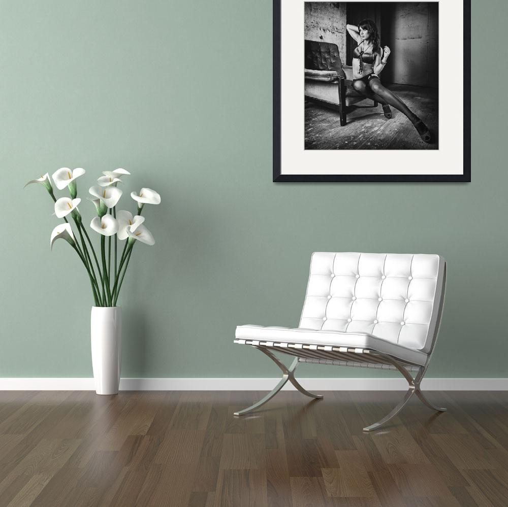 """""""Female on a chair""""  (2011) by paulbaybutphotography"""