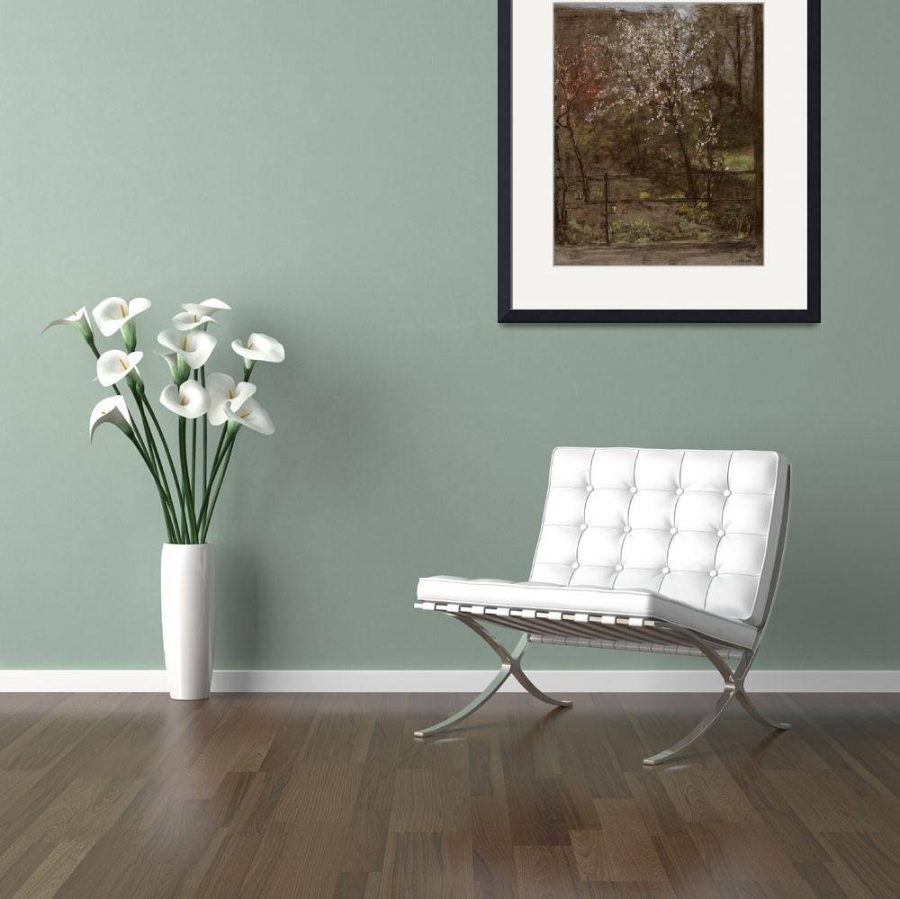 """""""Spring Blossoms (pastel)""""  by fineartmasters"""
