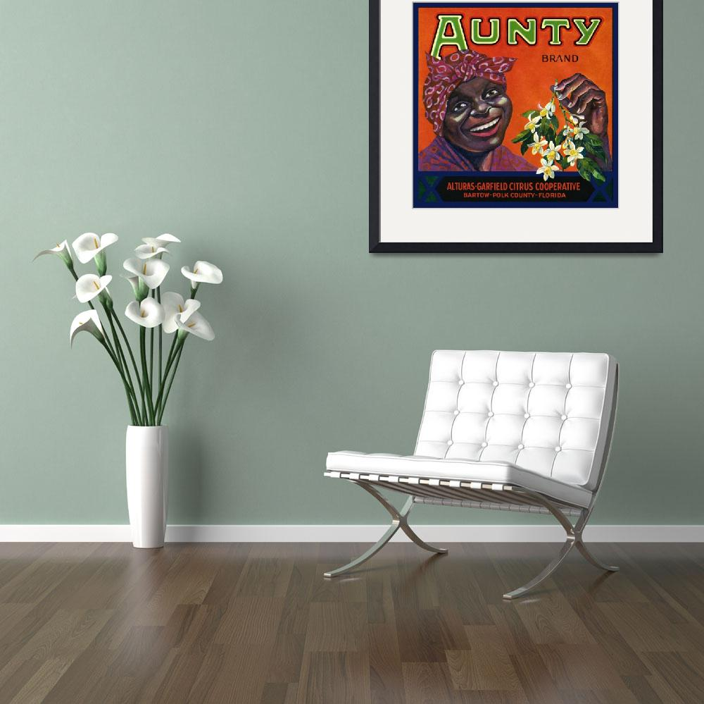 """""""Aunty Brand Citrus&quot  (2010) by dalidayna"""