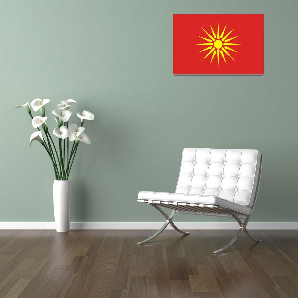 """old Macedonia flag""  by tony4urban"