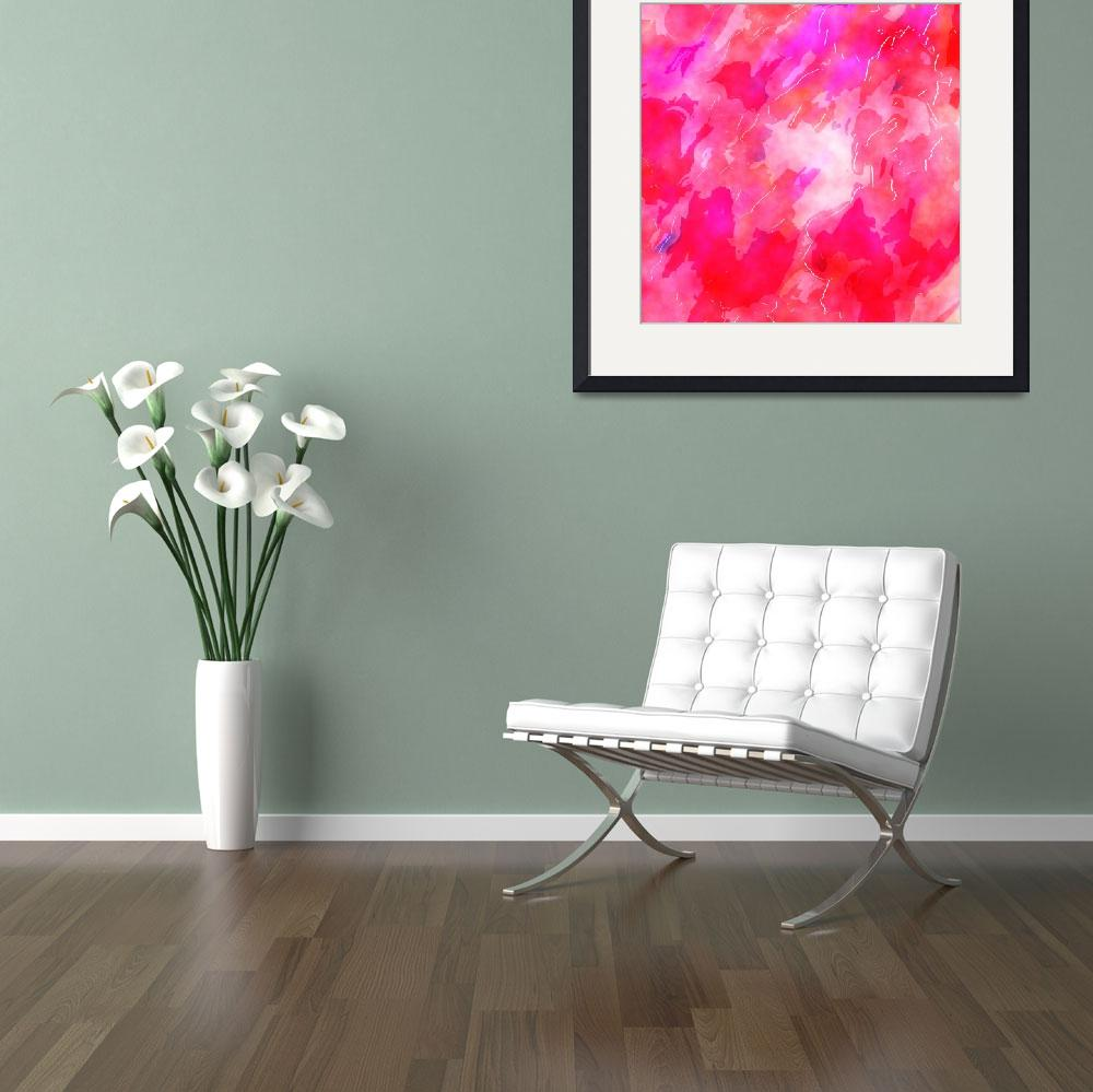 """""""Pink Watercolour&quot  by Prawny"""