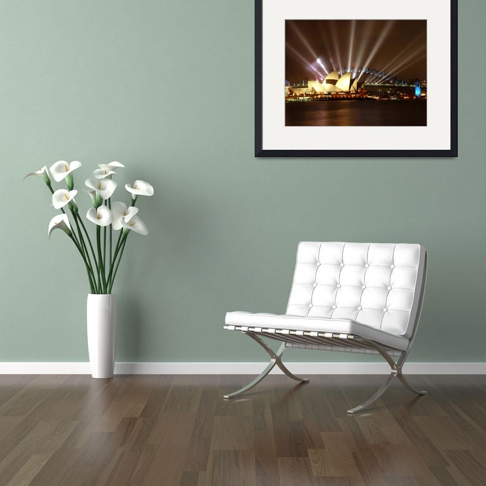 """""""Sydney Opera House&quot  by chan"""