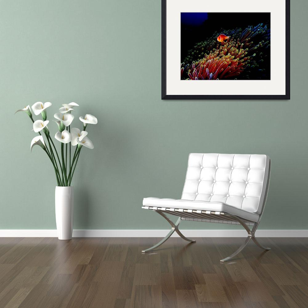 """""""Neon Anemone&quot  (2005) by Mac"""