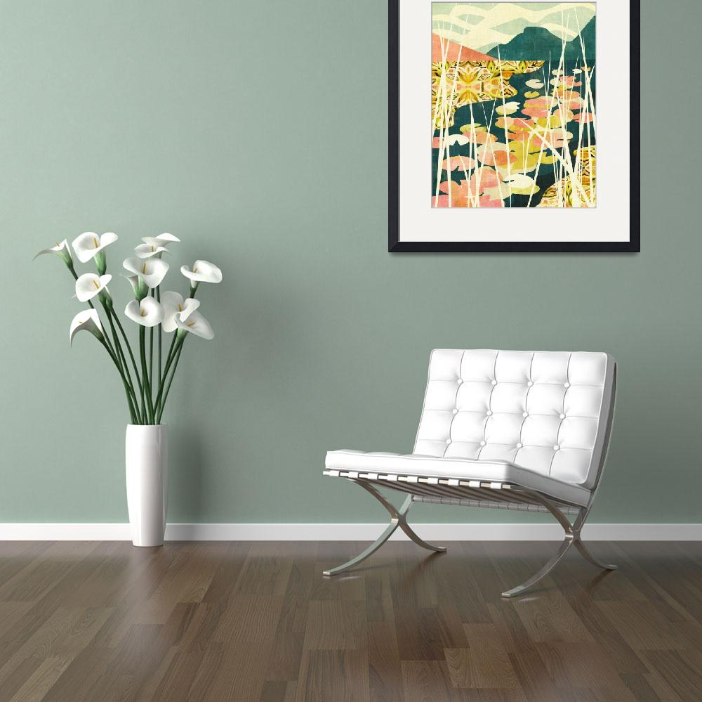 """""""Water Lilies&quot  by cozamia"""