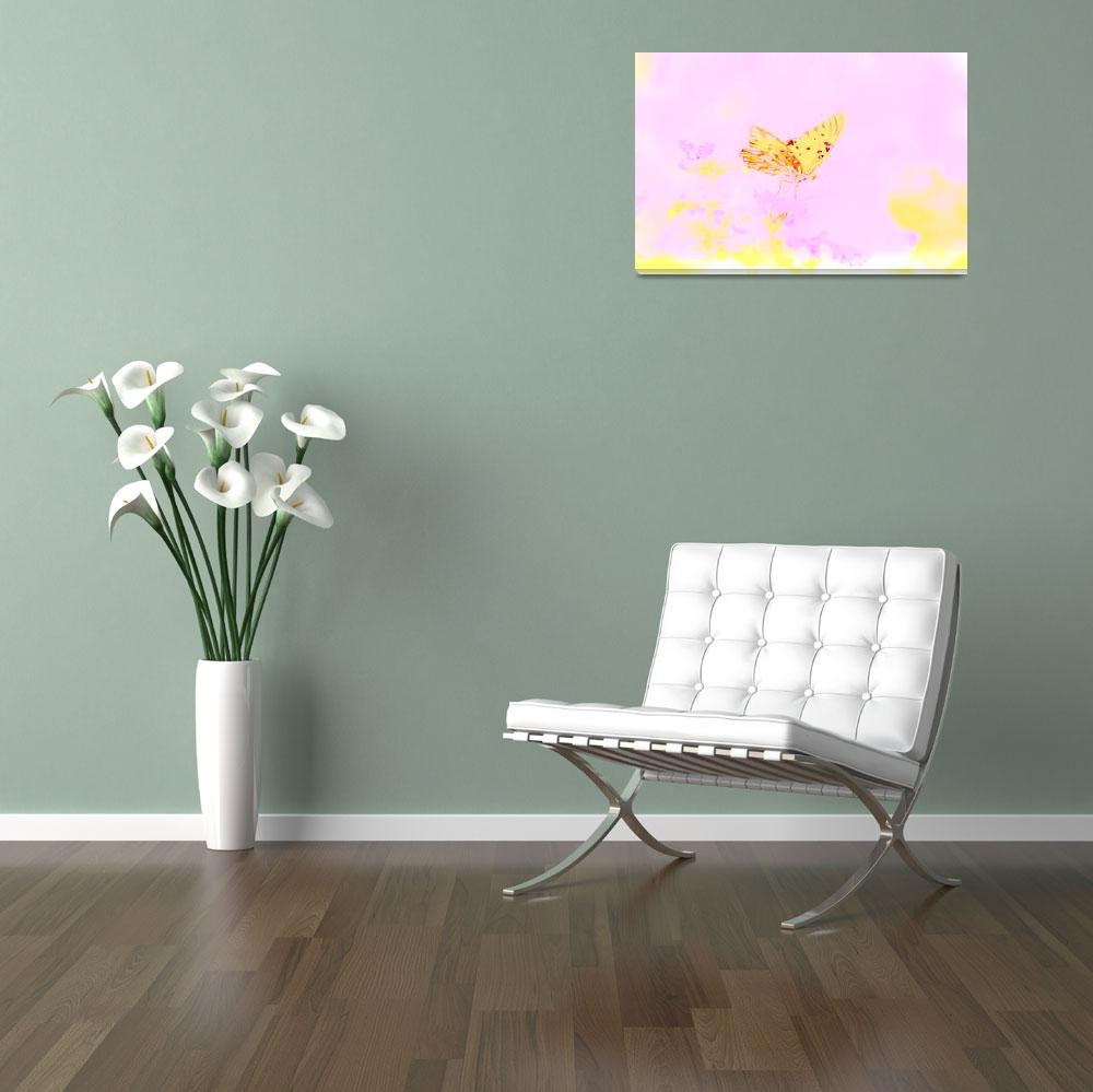 """""""Butterfly - Pink""""  (2010) by esinphotography"""
