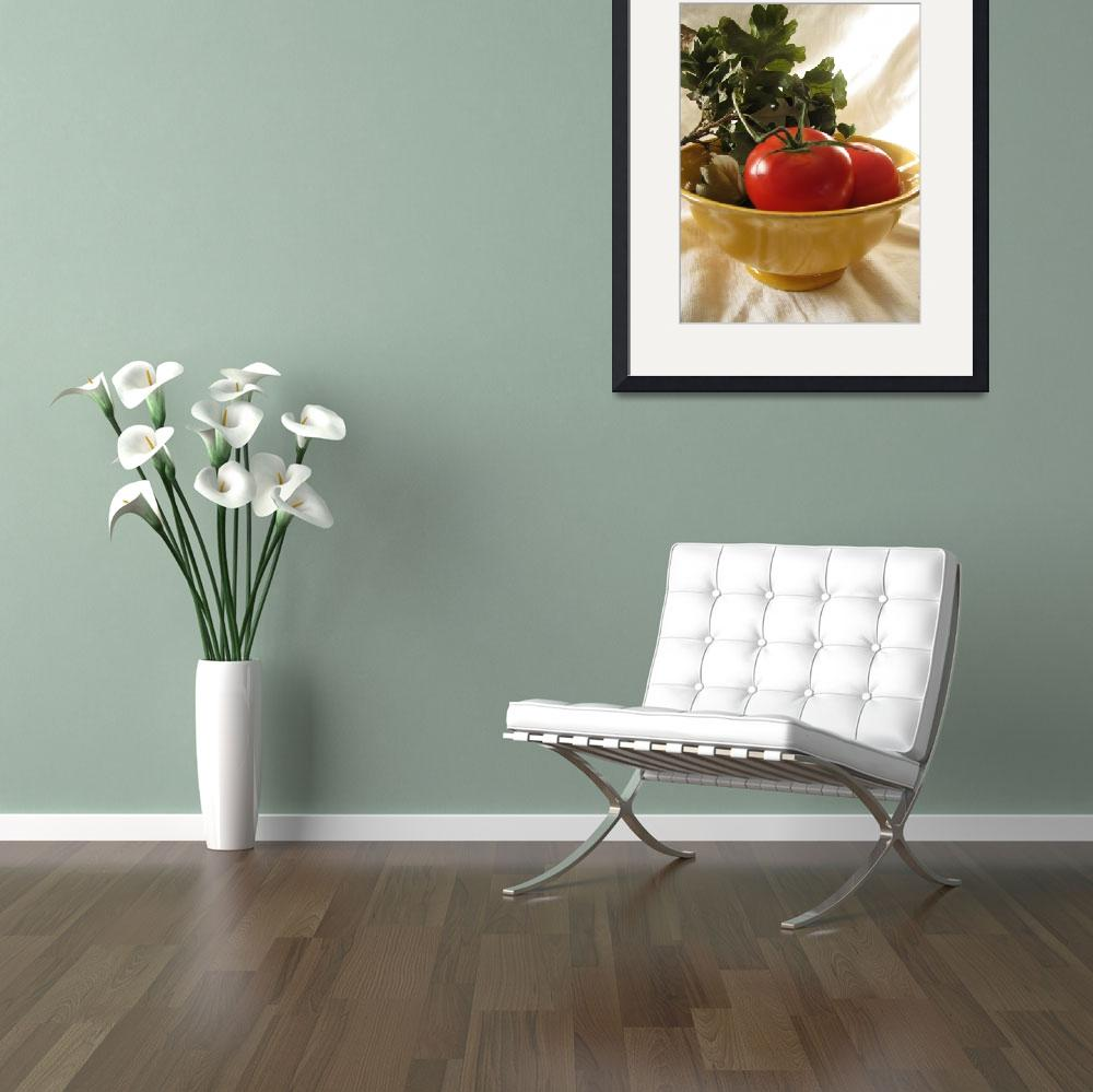 """Tomato Still Life&quot  (2009) by LindieRacz"