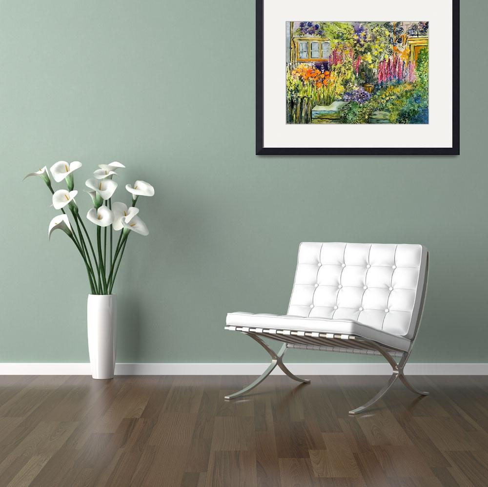 """""""Cottage Garden&quot  (2007) by typothecary"""