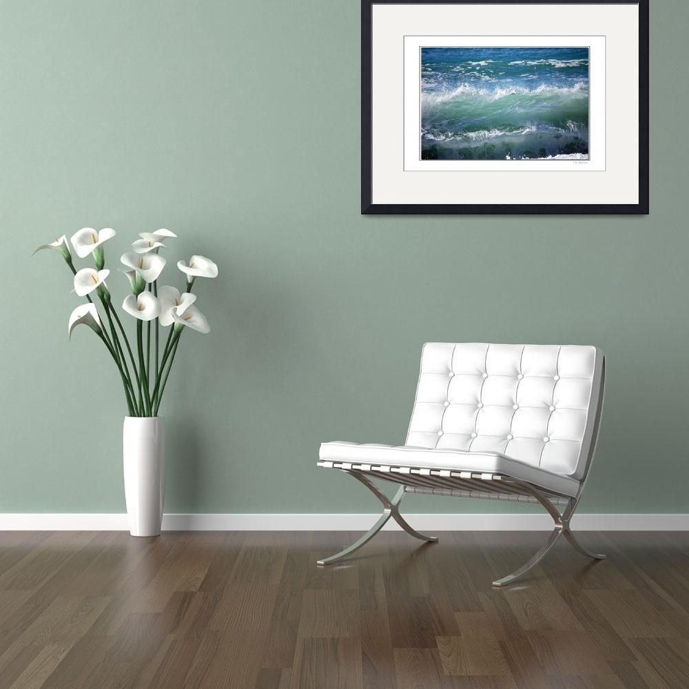 """""""Waves&quot  by PhotoArtbyBarb"""