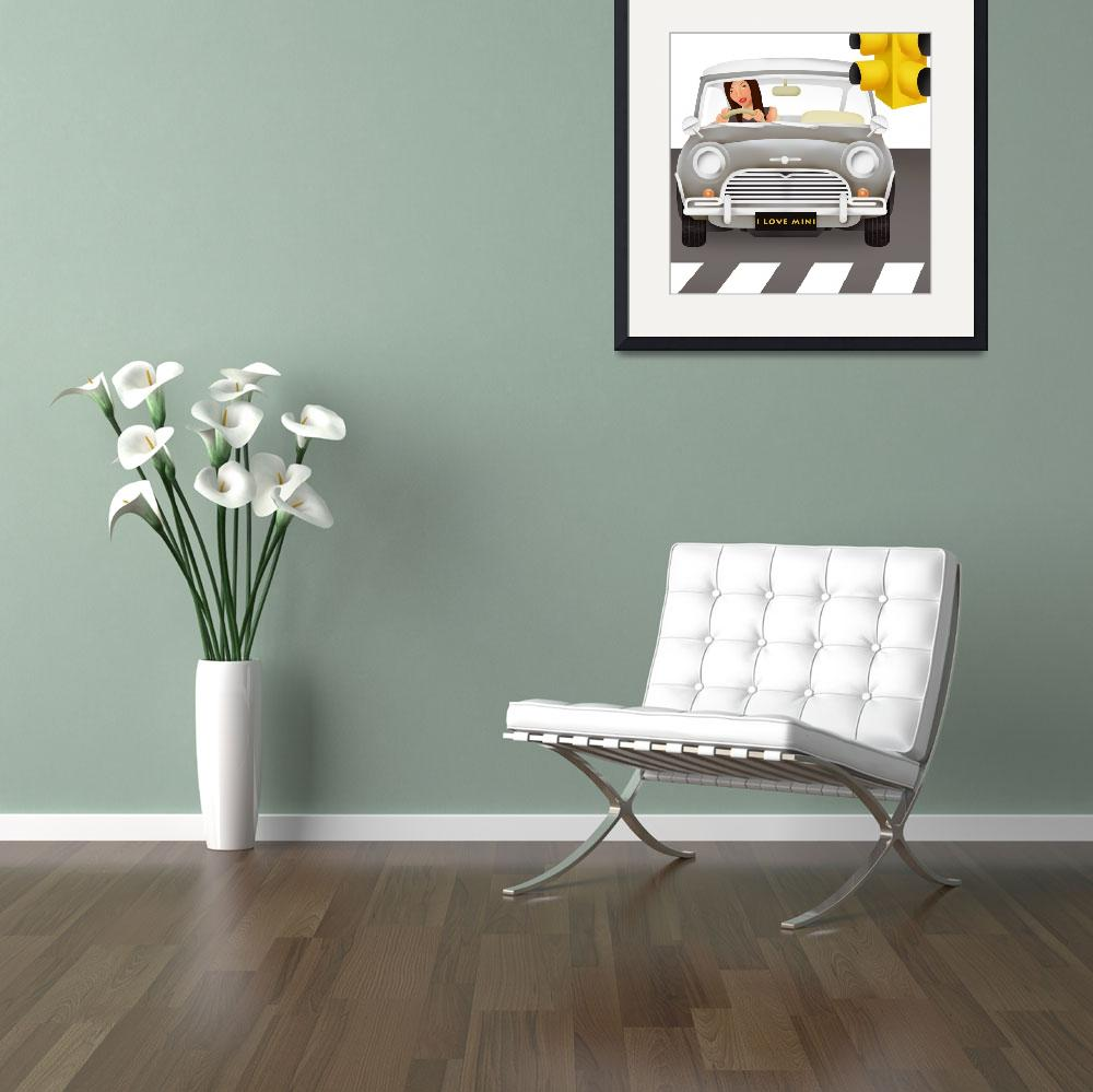 """""""I Love Mini&quot  by jessicawong"""