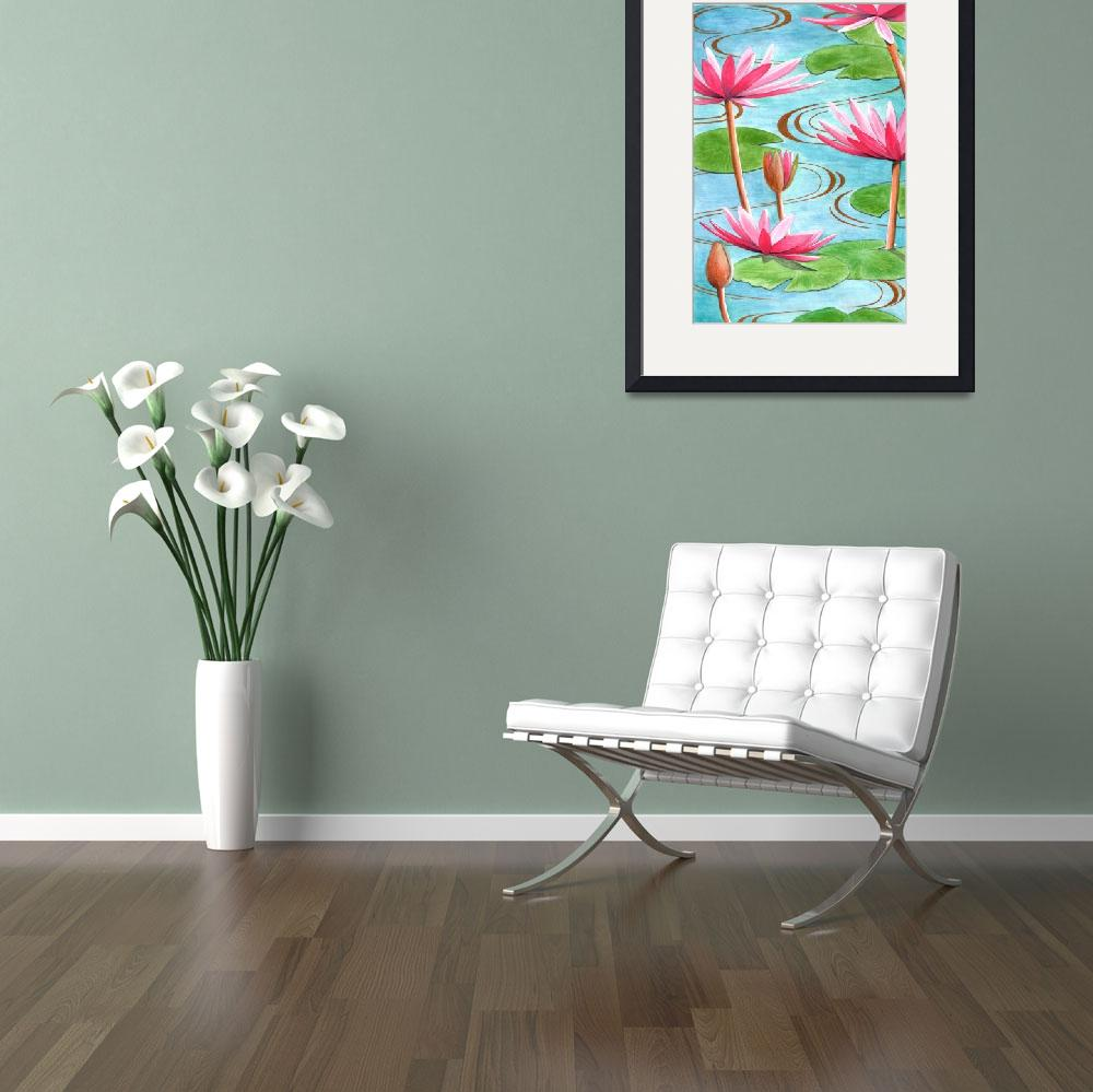 """""""Lotus Flower""""  by fineartmasters"""