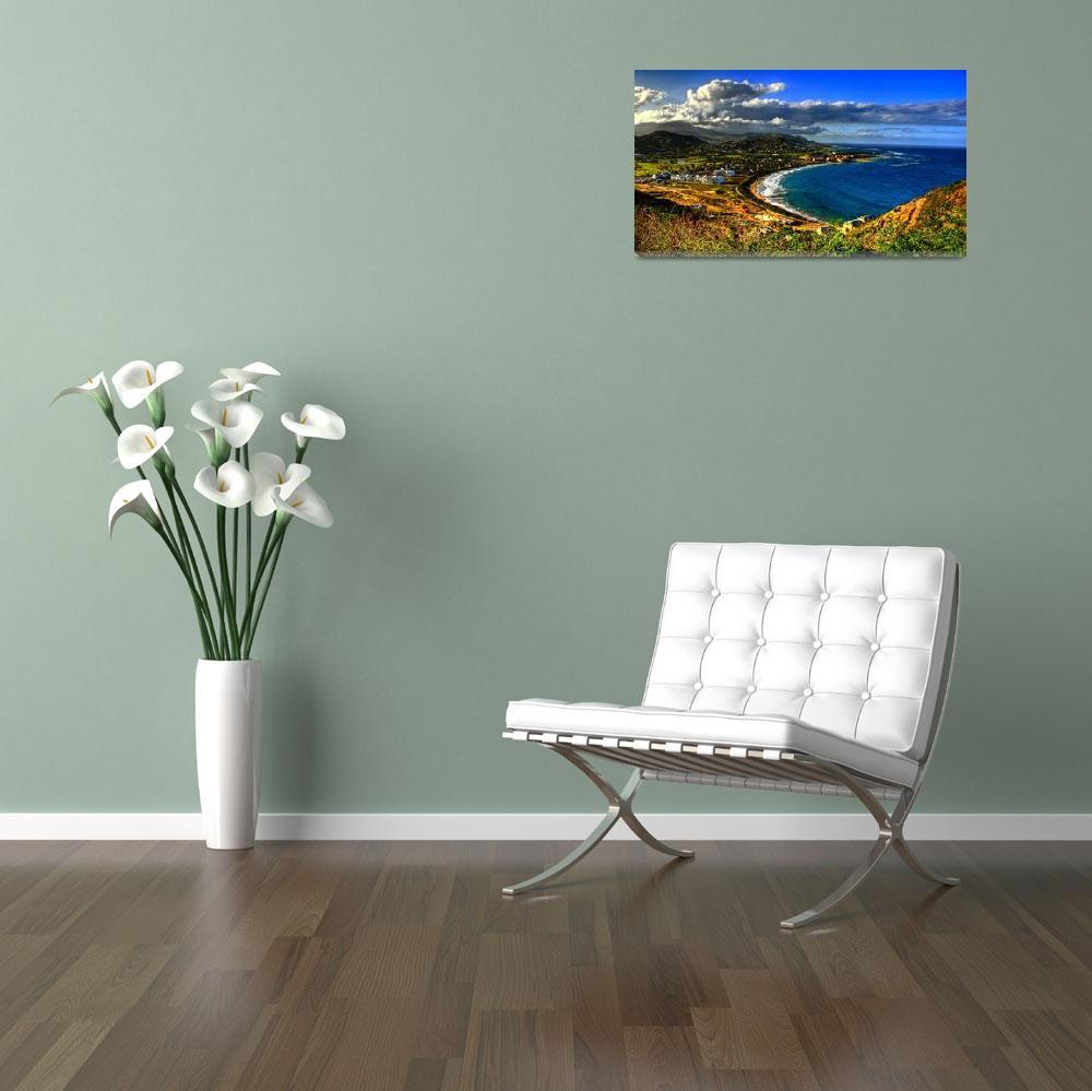 """Frigate Bay, St Kitts""  by FrankSlack"