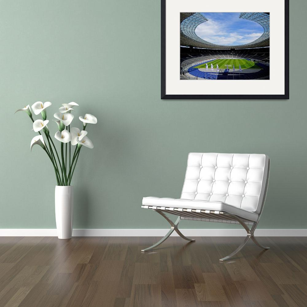 """Olympic Stadium Berlin""  (2011) by whatawonderfulworld"