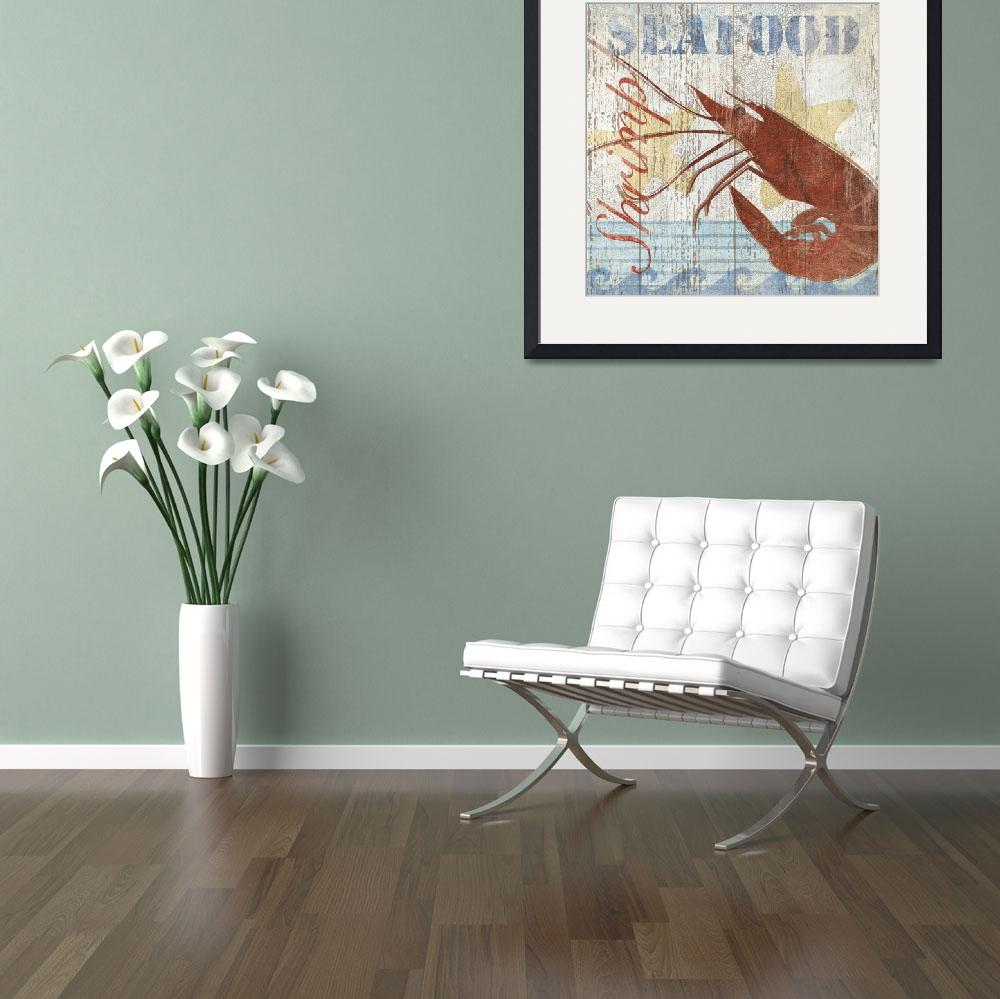 """""""Seafood IV&quot  by artlicensing"""