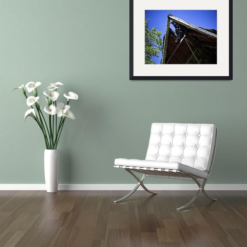 """""""old-barn-roof""""  (2008) by Gaylefleming"""