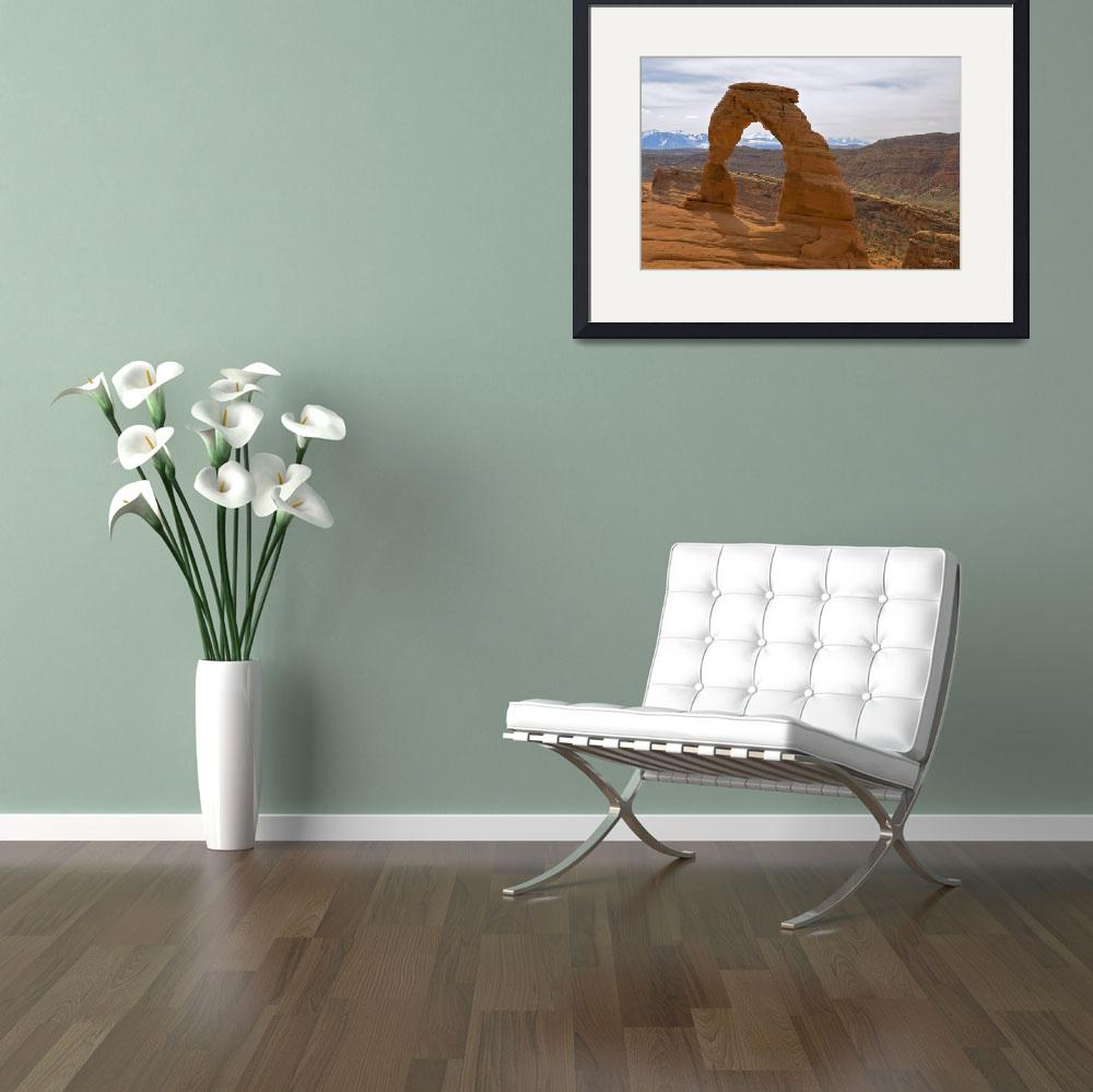 """""""Delicate Arch&quot  (2011) by ChristopherByrd"""