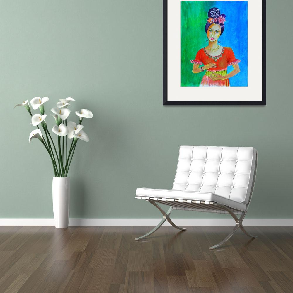 """""""CHINESE DANCER&quot  (2014) by JayneSomogy"""