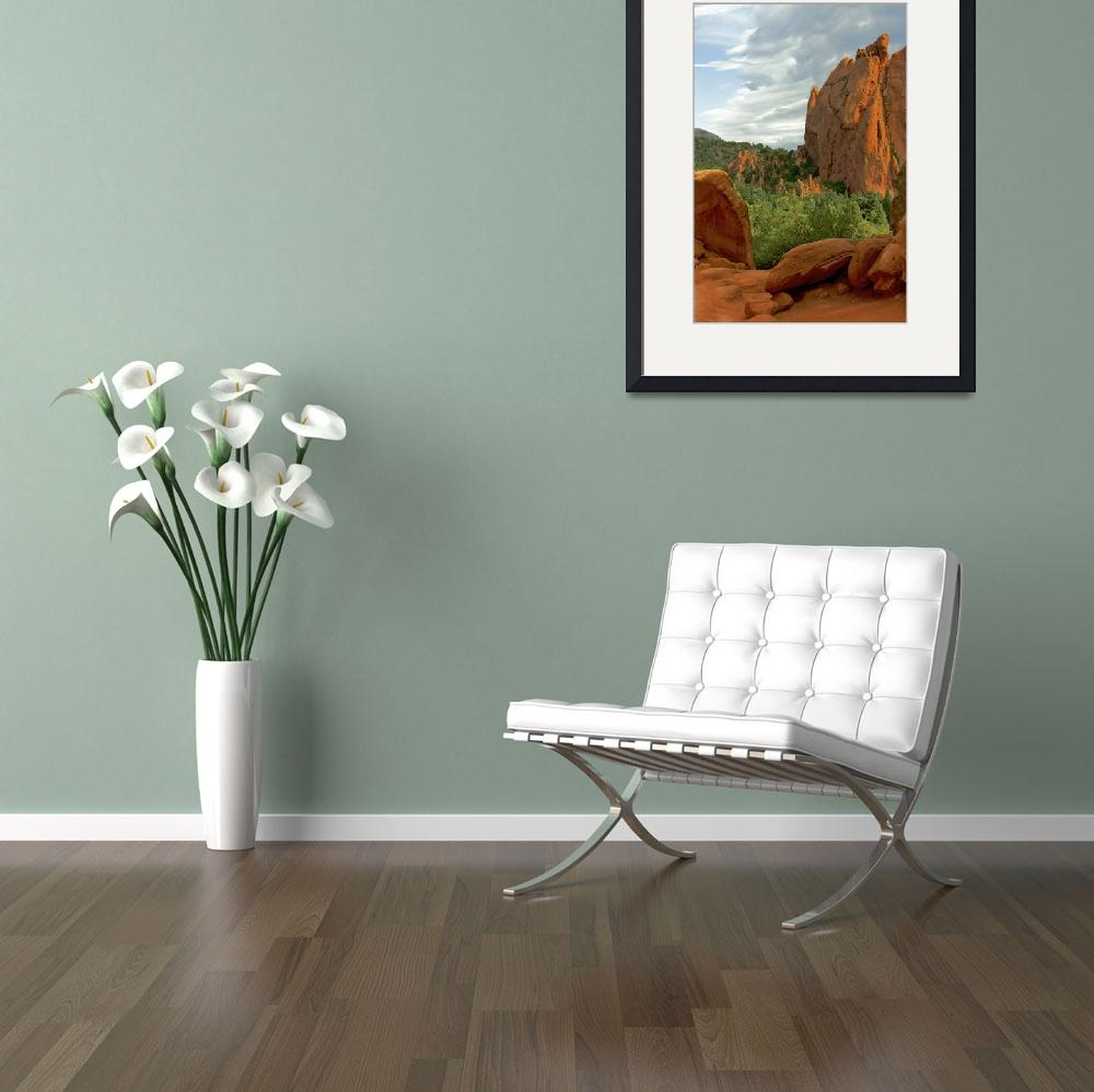 """""""Garden of the gods&quot  by mellow"""