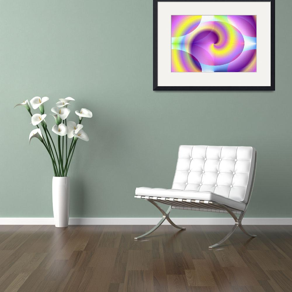 """""""spiral-digital-print&quot  (2009) by the-creative-artist"""