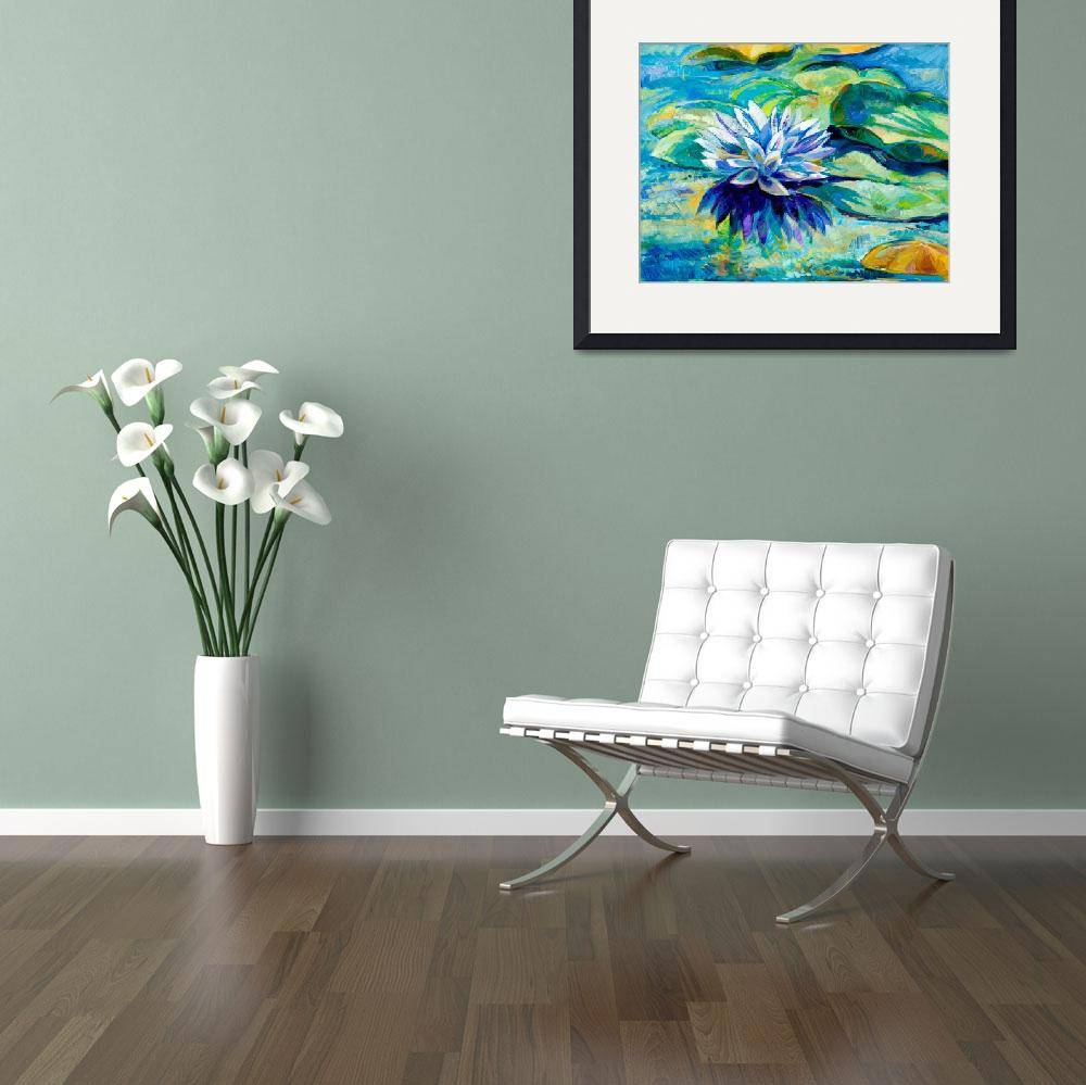 """water lily""  (2012) by boyan"