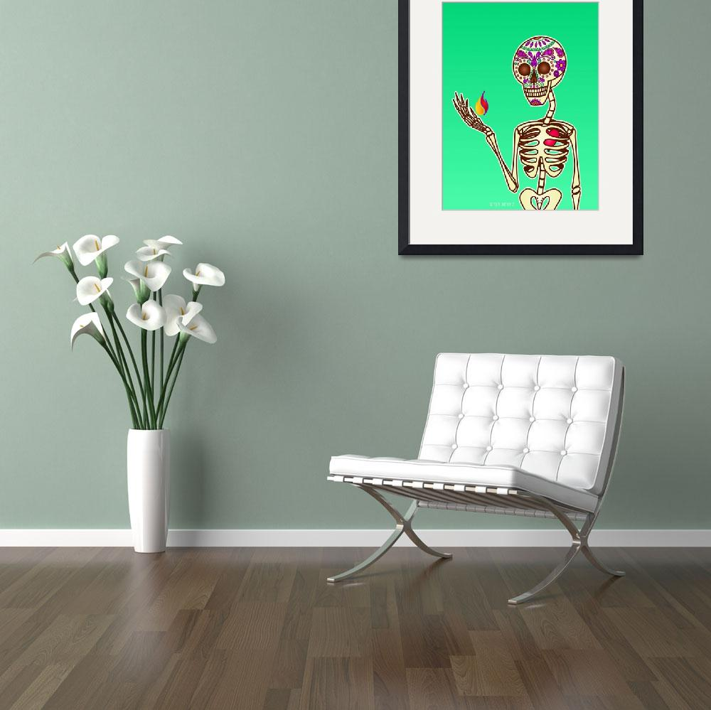 """""""Candy Skull&quot  (2008) by roctopus"""