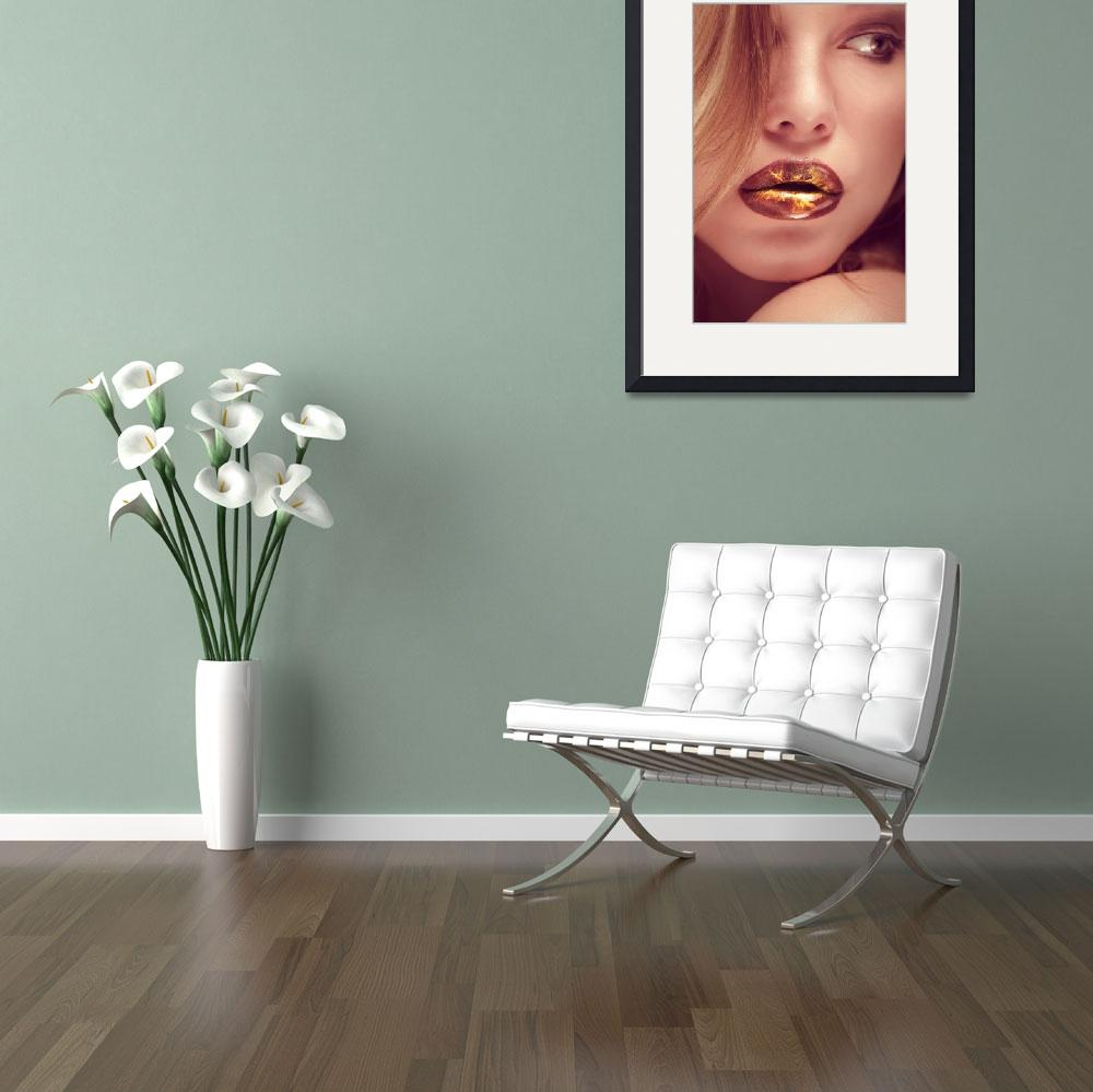 """""""hot lips&quot  (2012) by photoplace"""