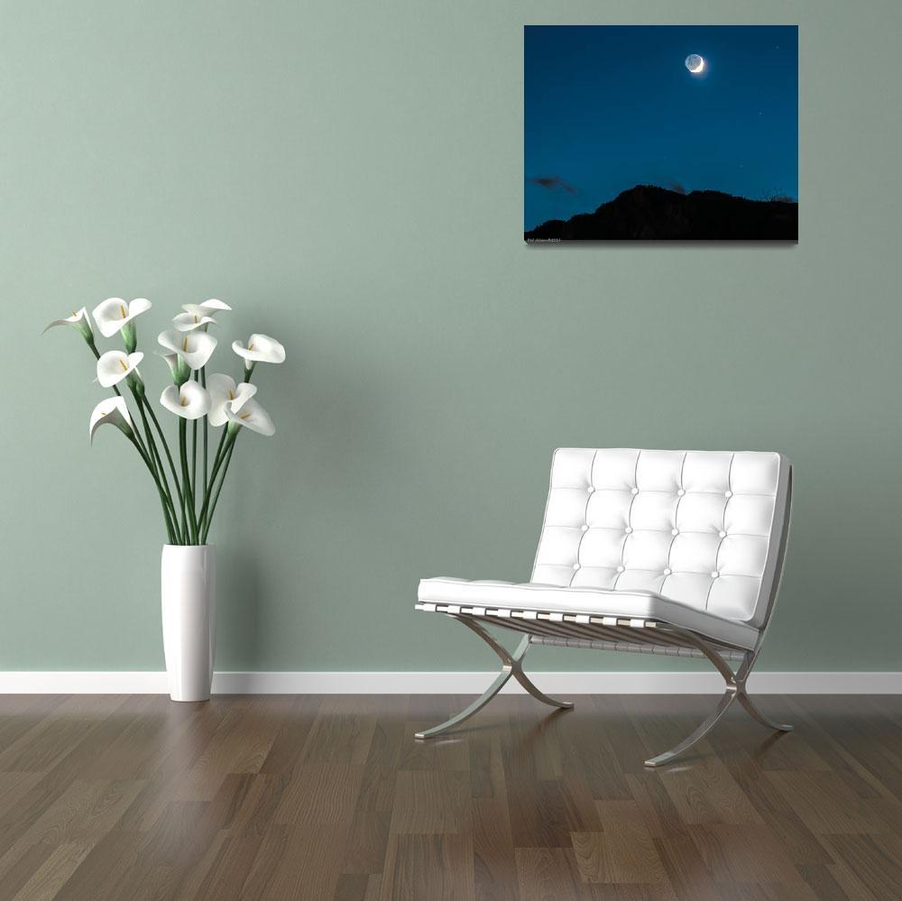 """Moon Man""  (2014) by ralphnelsen"