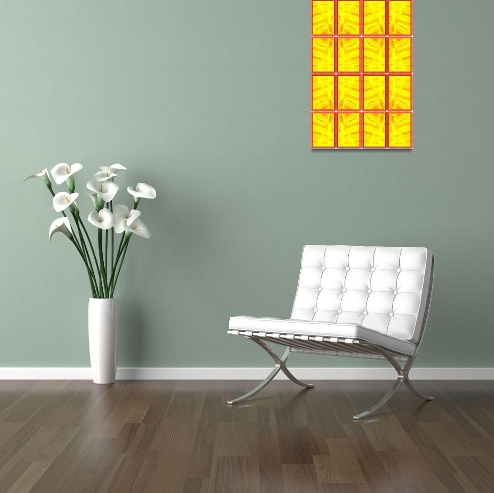"""""""Segmented Yellow&quot  by sgrace"""