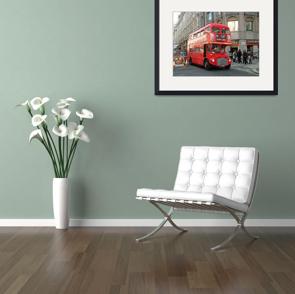 """""""London Routemaster Bus - The Strand&quot  by bespokepix"""