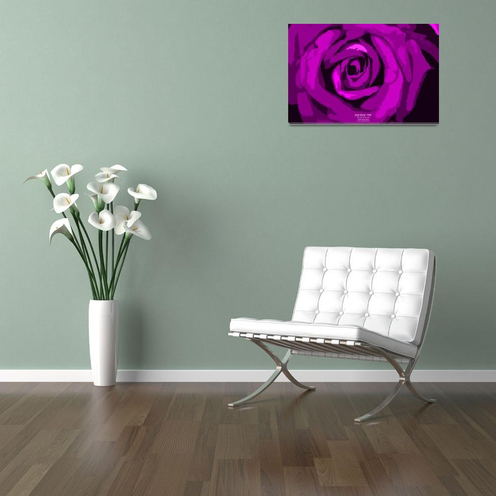 """""""July Rose Pink""""  (2012) by SouthIdahoPhoto"""