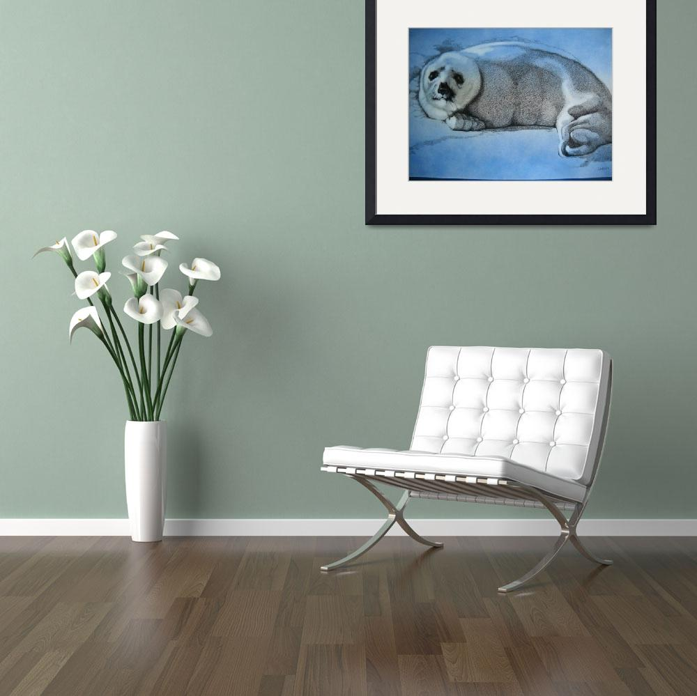 """""""Sealpup""""  (2009) by donwells"""