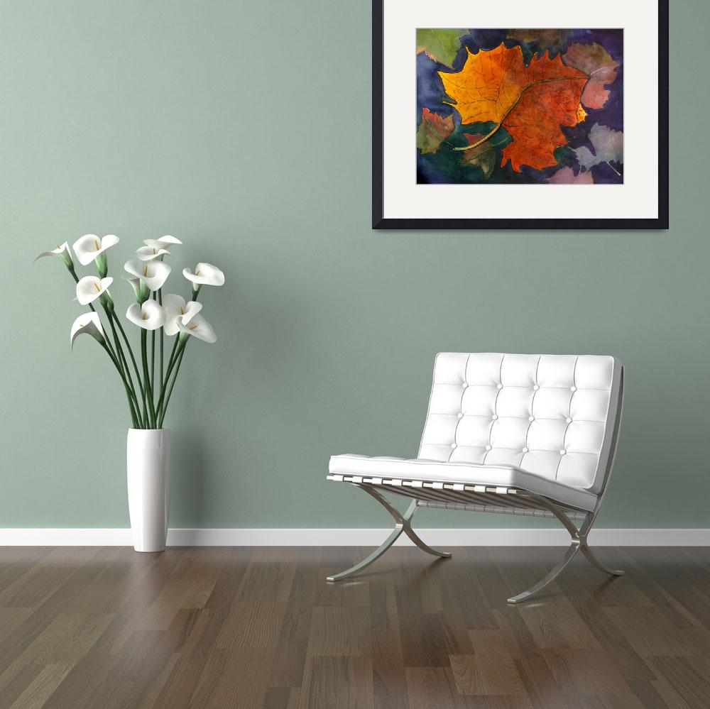 """Floral Art Print by Sue Coomer""  by artprint"